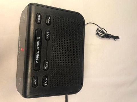 Rádio relógio que deixa a rádio tocando por um tempo pré-determinado - Foto 2