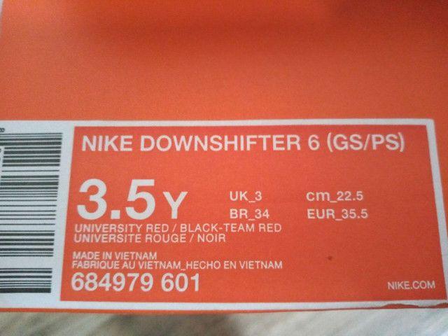 Tênis Nike, tamanho 34, original - Foto 6