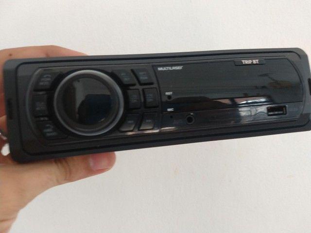 Rádio Multilaser, bluetooth, USB, P2, e cartão  - Foto 2