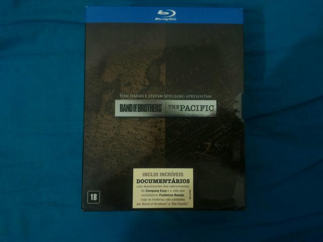 Coleção Blu-ray Band of Brothers e The Pacific