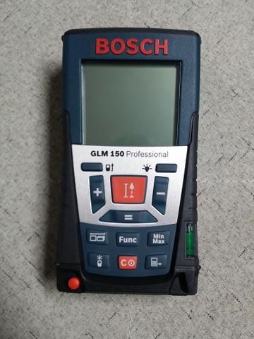 Trena Laser Bosch GLM 150 Professional (nova sem uso)