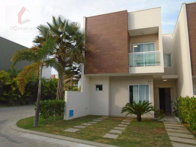 Casa duplex em condominio fechado, Eusébio.