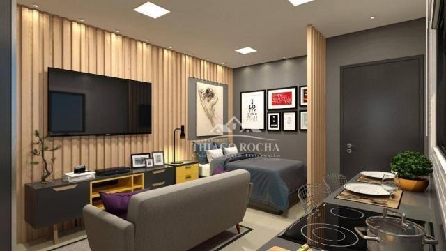 Studio com 1 dormitório à venda, 30 m² por r$ 140.900 - são pedro - são josé dos pinhais/p - Foto 5