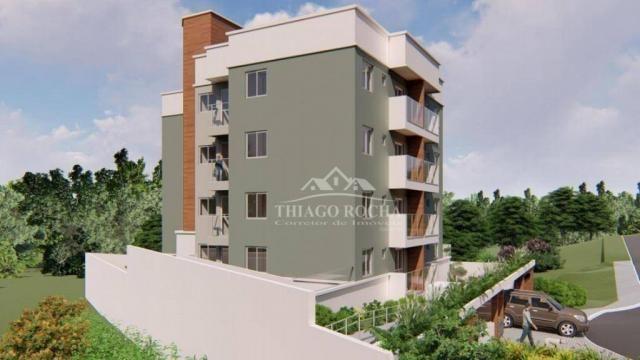 Apartamento garden com 15,45 m² para o seu pet, 2 quartos, churrasqueira e garagem coberta - Foto 12