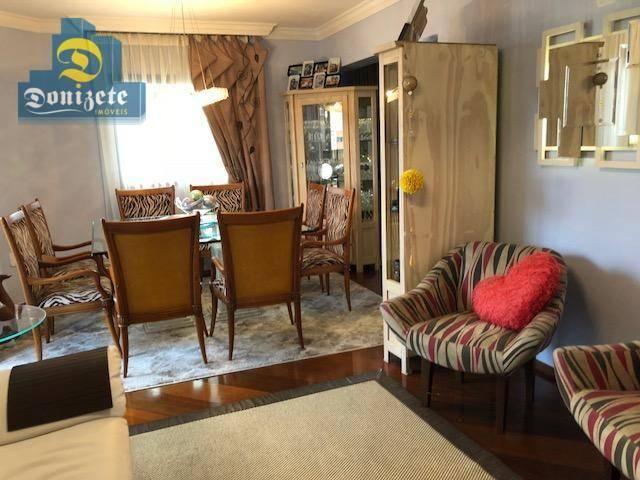 Apartamento com 3 dormitórios à venda, 150 m² por r$ 550.000,01 - vila bastos - santo andr - Foto 5