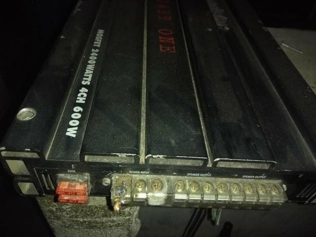 Módulo amplificador Power one