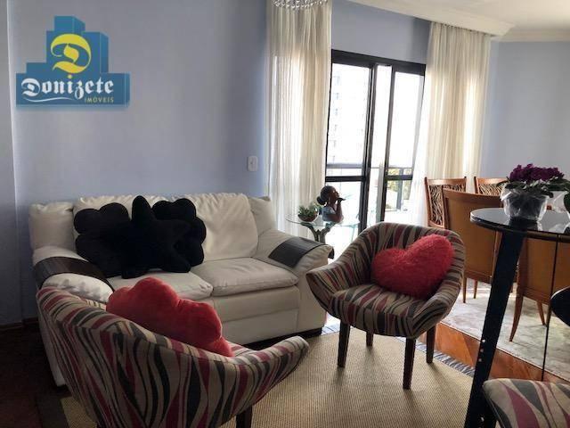 Apartamento com 3 dormitórios à venda, 150 m² por r$ 550.000,01 - vila bastos - santo andr - Foto 13