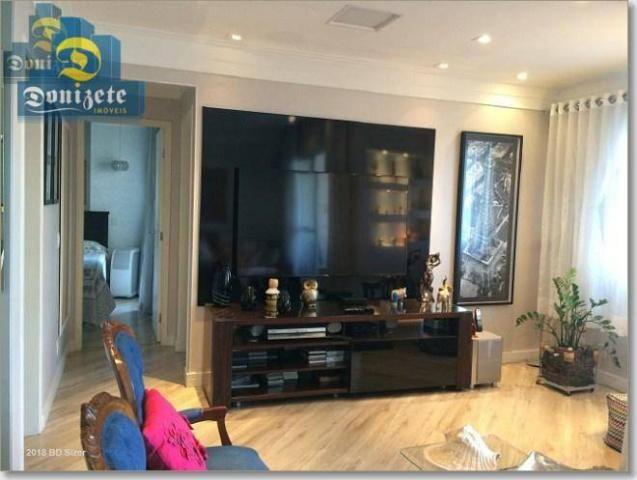 Apartamento com 3 dormitórios à venda, 89 m² por r$ 590.000,10 - cerâmica - são caetano do - Foto 3