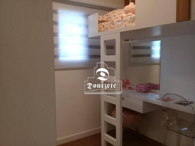 Apartamento à venda, 81 m² por r$ 515.000,00 - jardim - santo andré/sp - Foto 14