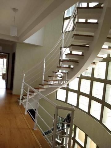 Sobrado com 4 dormitórios à venda, 427 m² por r$ 1.690.000,01 - campestre - santo andré/sp - Foto 5