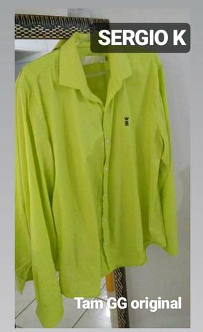 8f789510561c2 1 Camisa Sergio K tam GG original - Roupas e calçados - St Bueno ...