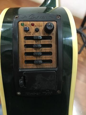 Violão Elétrico Aço Crafter - Preço especial a vista - Foto 6
