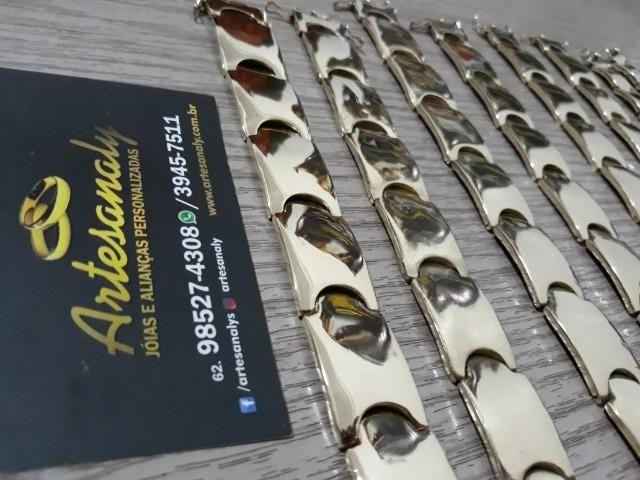 Chegou!! Bracelete moeda entrega grátis!! - Foto 2