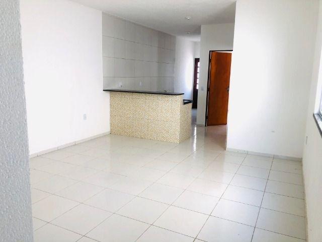 WS casa nova com 2 quartos,2 banheiros,varandao,coz.americana,quintal - Foto 3