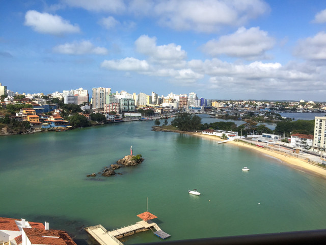 A vista mais linda de Guarapari fantástico apartamento - Foto 3