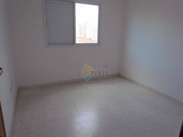 Apartamento para alugar, 100 m² por R$ 3.000,00/mês - Canto do Forte - Praia Grande/SP - Foto 12