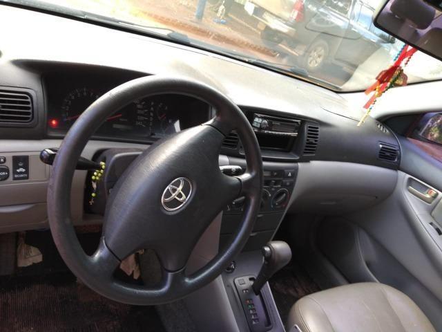 Corolla XEI 1.8- Automático