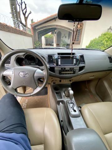 Hilux SW4 3.0 aut 4x4 diesel 2012 abaixo da fipe!! - Foto 8