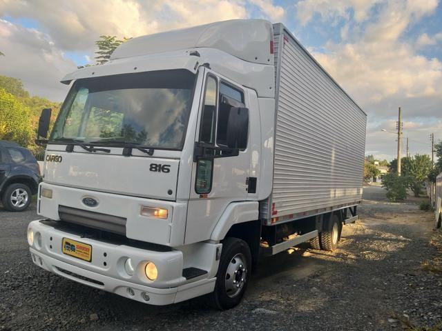Ford Cargo 816 baú 6.20 m - Caminhões - Ituporanga 727013543   OLX