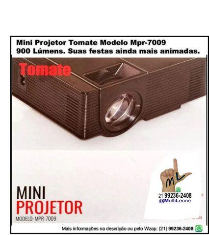 Mini Projetor Tomate Modelo Mpr-7009 / 900 Lúmens Android Wi-fi Bluetooth - Foto 2