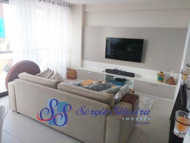 Cobertura duplex mobiliada no Mediterranée Residence no Porto das Dunas com 3 suítes - Foto 2