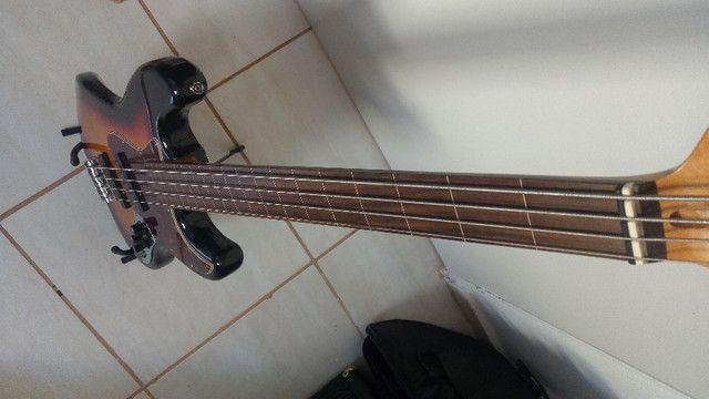 Baixo SX Sjb62 EMG Jazz Bass - Foto 3