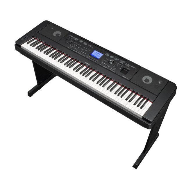 Vendo Piano digital Yamaha DGX-660 - Foto 2