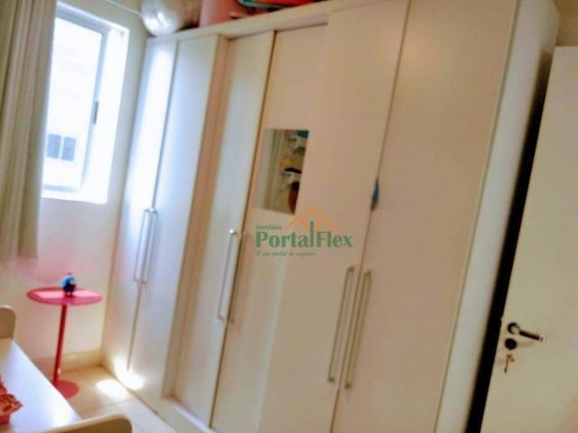 Apartamento com 2 dormitórios à venda, 62 m² por R$ 240.000,00 - Valparaíso - Serra/ES - Foto 16