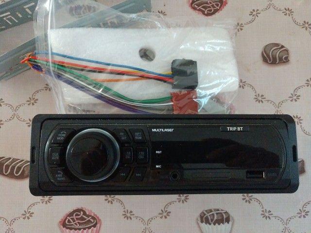 Rádio Multilaser, bluetooth, USB, P2, e cartão  - Foto 4