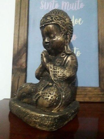 Lindo Buda Tibetano Cura do Lar - Foto 4