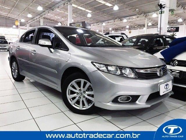 Honda Civic LXS 1.8 Aut 2014 - Foto 3