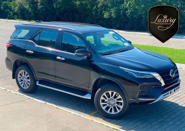 Toyota SW4 2021 SRX 0 KM Preta 7 Lugares Diesel  Pronta Entrega