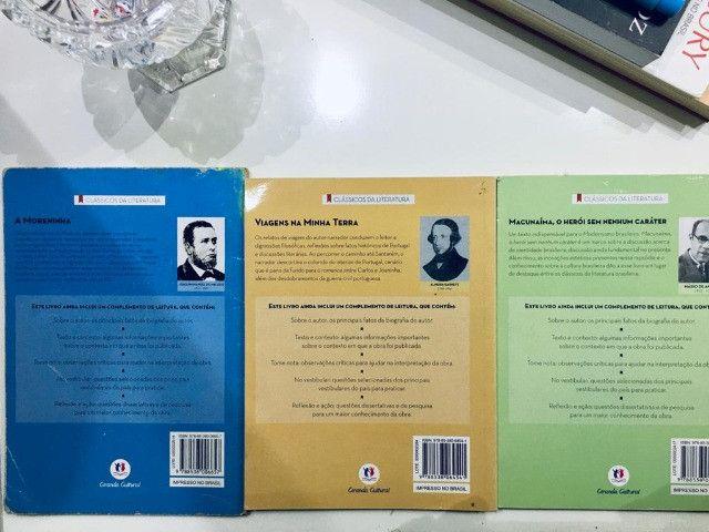 Livros A moreninha, Viagens na minha terra e Macunaíma - Foto 2