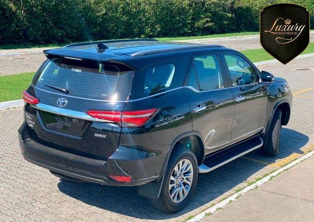 Toyota SW4 2021 SRX 0 KM Preta 7 Lugares Diesel  Pronta Entrega - Foto 12