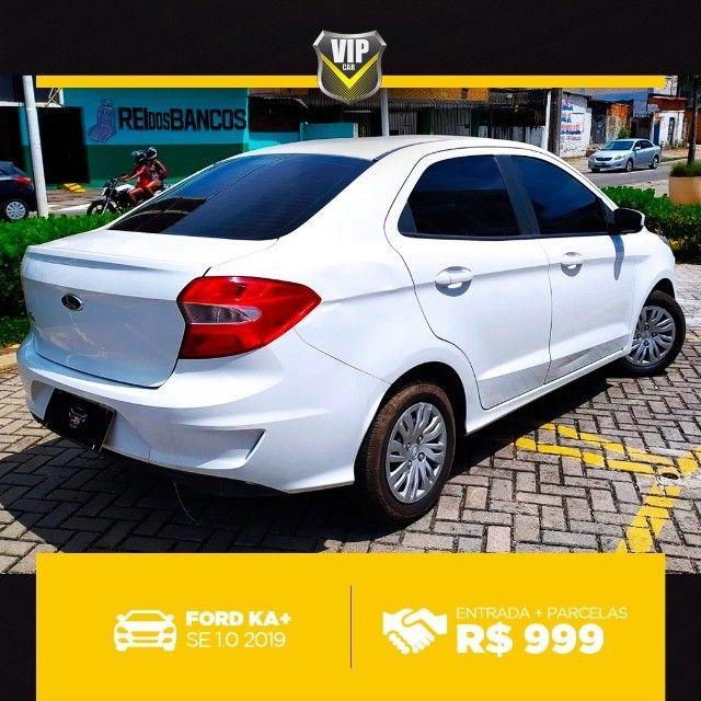 Ford Ka 2019 1.0 completo e vistoriado!!! - Foto 8