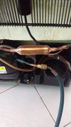 Geladeira eletrolux sem funcionar motor novo nota fiscal e instalado - Foto 5