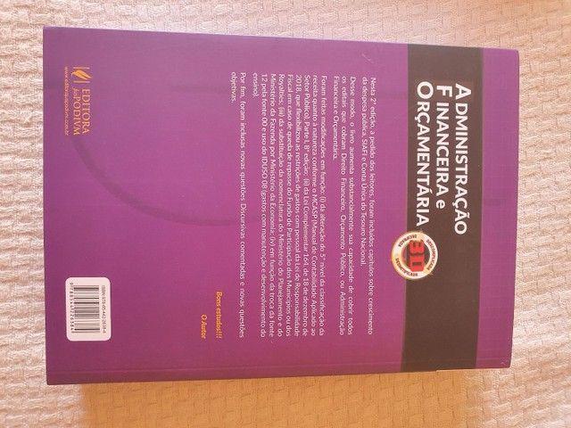 Livro de Administração financeira e orçamentaria  - Foto 2