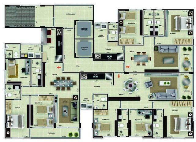 Apartamento para Venda em João Pessoa, Cabo Branco, 2 dormitórios, 1 suíte, 2 banheiros, 2 - Foto 7