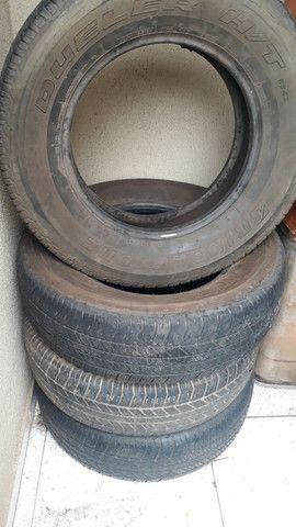 Pneus Bridgestone 265 65 aro 17 para caminhonetes - Foto 3