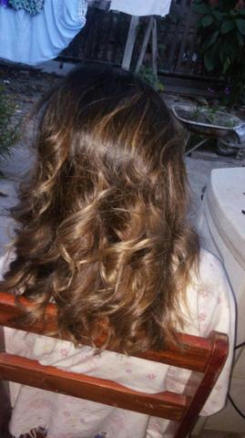 Promocao ombre hair
