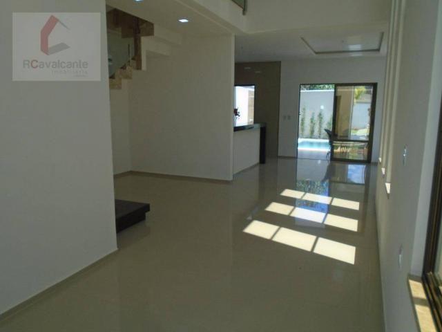 Casa com 4 dormitórios à venda, 152 m² por R$ 569.000,00 - Eusébio - Eusébio/CE - Foto 8