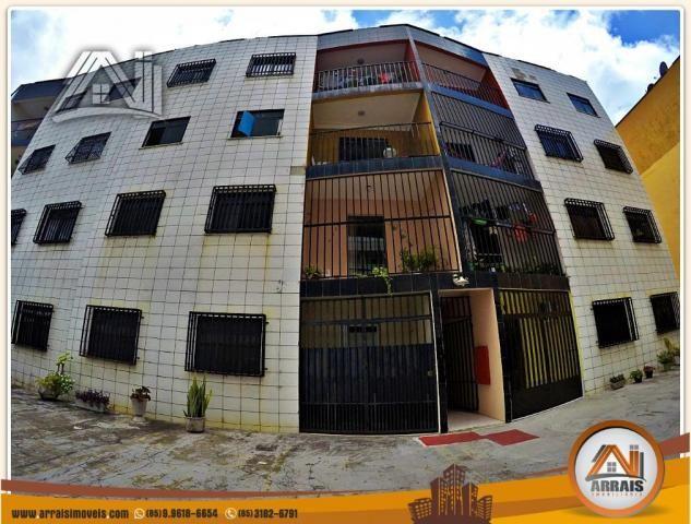 Vendo apartamento 3 quartos no bairro Jacarecanga - Foto 12
