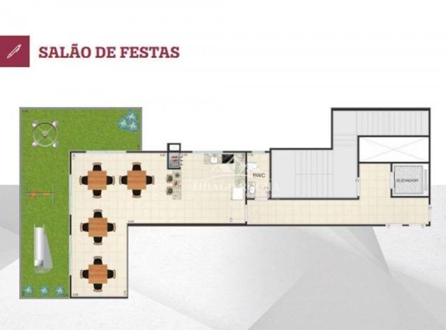 Cobertura duplex com 2 dormitórios à venda, 102 m² por r$ 440.000 - centro - são josé dos  - Foto 7