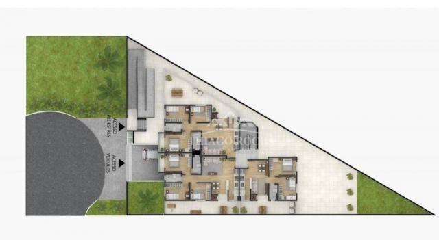 Apartamento garden com 15,45 m² para o seu pet, 2 quartos, churrasqueira e garagem coberta - Foto 10