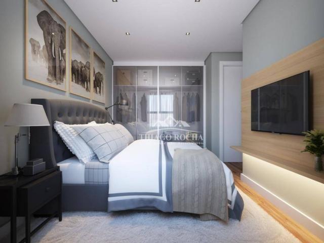 Apartamento térreo com 3 dormitórios à venda, 50 m² por r$ 209.900 - tingui - curitiba/pr - Foto 13