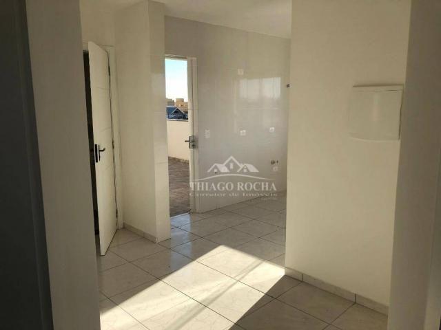 Apartamento terraço, 2 quartos, churrasqueira- afonso pena - Foto 4