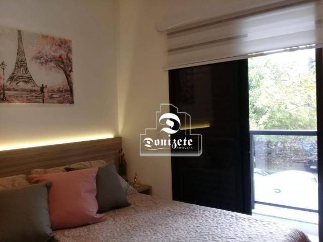 Apartamento à venda, 81 m² por r$ 515.000,00 - jardim - santo andré/sp - Foto 13