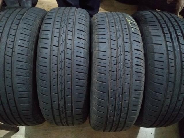 Jogo de roda com pneus 15 astra - Foto 5