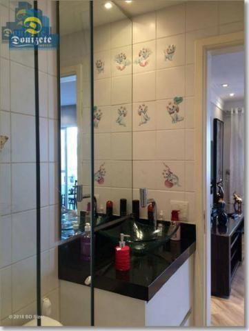 Apartamento com 3 dormitórios à venda, 89 m² por r$ 590.000,10 - cerâmica - são caetano do - Foto 13