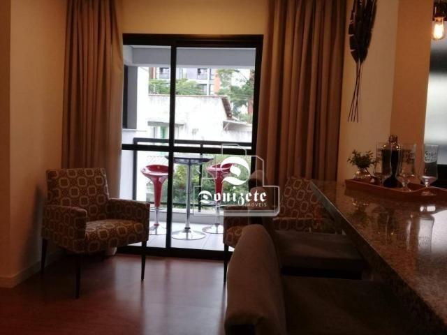 Apartamento à venda, 81 m² por r$ 515.000,00 - jardim - santo andré/sp - Foto 2